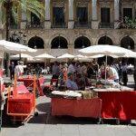 mercadillo dominical Plaza Real