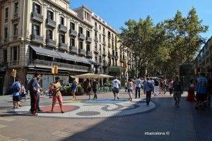 La Rambla street Barcelona