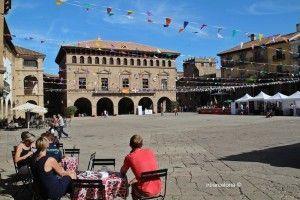 plaza mayor Poble Espanyol