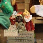 marionetas de los tres Reyes Magos