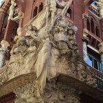 conjunto escultórico 'La Cançó Popular Catalana' de Miquel Blay
