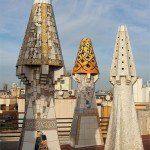 chimeneas del Palau Güell