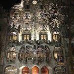 fachada iluminada Casa Batlló