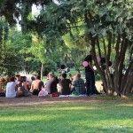 fiesta en el Parc de la Ciutadella