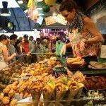 venta de fritos La Boqueria
