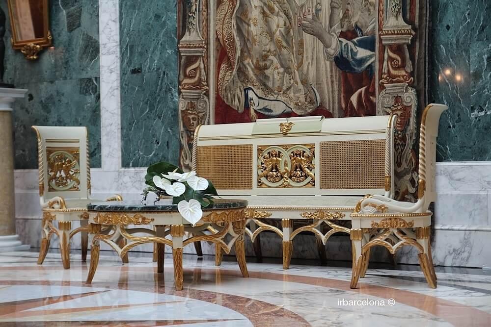 mobiliario Palacio Albéniz