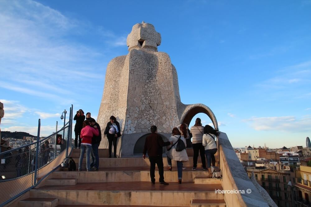 La Pedrera visit