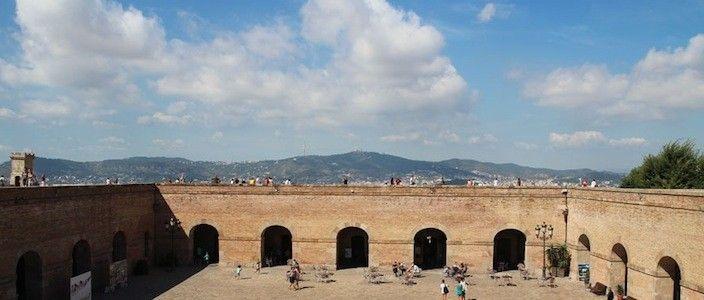 vistas Castillo de Montjuïc