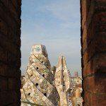 vistas chimeneas Palau Güell