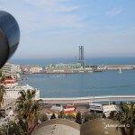 vistas hotel W Barcelona