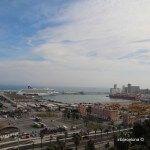 vistas puerto de Barcelona