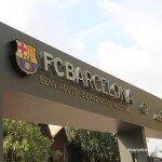 acceso instalaciones FC Barcelona