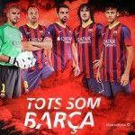 cartel Tots Som Barça