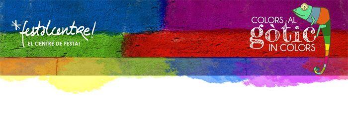 Colors al Gotic, Exposición de Colores en el Centro de Barcelona
