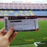 entrada Camp Nou Experience