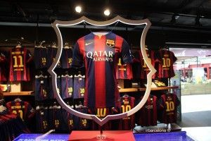 Camp Nou official store