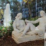 escultura Jardinets de Gràcia