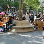 Dia Sant Jordi Passeig de Gràcia
