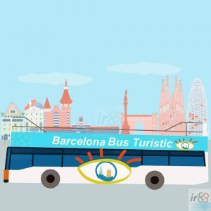 purchase tickets Hop-On Hop-Off Barcelona Bus