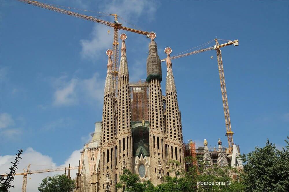 vista della Sagrada Familia