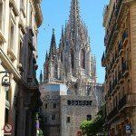 vistas campanario Catedral de Barcelona