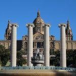 Columnas y Palau Nacional de Catalunya
