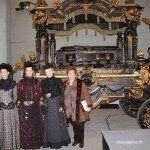 inauguración colección carrozas fúnebres