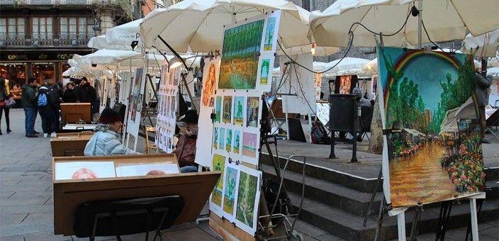 Plaza de Sant Josep Oriol