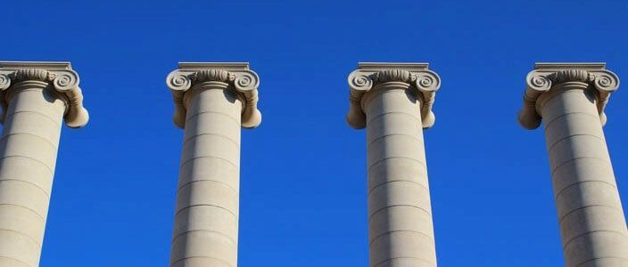 Cuatro Columnas Puig i Cadafalch