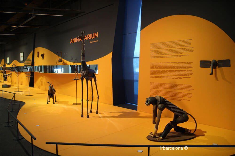 exposición temporal Animalarium