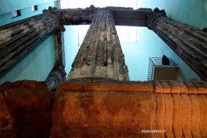 magnitud Columnas Templo de Augusto