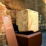 piedra Templo de Augusto