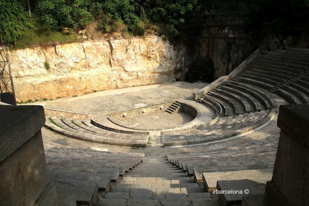 Teatre Grec (teatro griego)