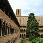 claustro y campanario Monasterio de Pedralbes