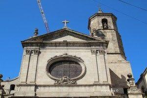 fachada Basílica de La Mercè