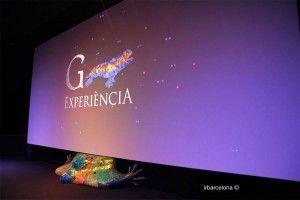 Filmleinwand Gaudí Experiència
