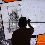 panel interactivo Gaudí Experiència