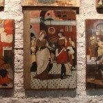 Retablos expuestos en el Museo Diocesano
