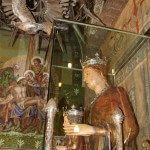 talla gótica de la Virgen de la Mercè