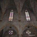 vidrieras iglesia del Monasterio de Pedralbes