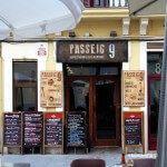 bar restaurante Passeig 9
