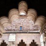 detalles del claustro de Sant Pau del Camp