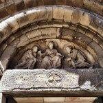 representación bíblica entrada Sant Pau del Camp