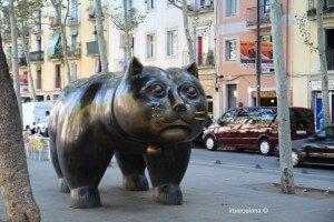 Fernando Botero Cat