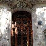 puerta Casa Comalat av. Diagonal