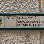 señal para carruajes