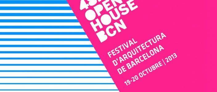 48H Open House BCN 2013, festival de arquitectura de Barcelona