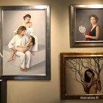 pinturas en una sala del MEAM