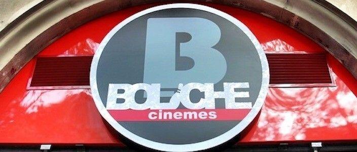 Sala de Cine Italiano en los Cines Boliche de Barcelona