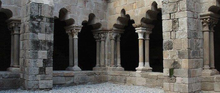 claustro románico Sant Pau del Camp